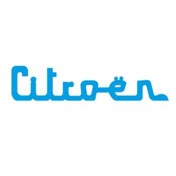 Sticker Citroen logo dessin