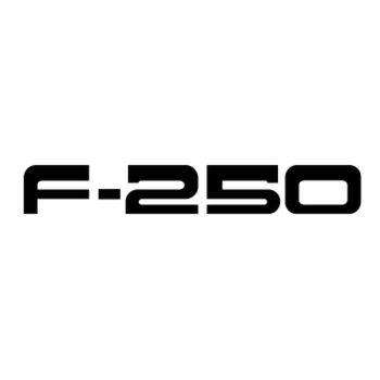 GMC F 250 Logo Decal