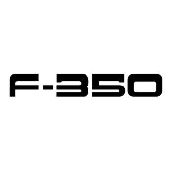 GMC F 350 Logo Decal