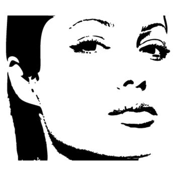 > Sticker Angelina Jolie