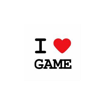 T-Shirt I love game