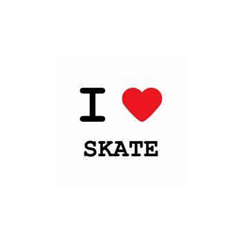 T-Shirt I love skate