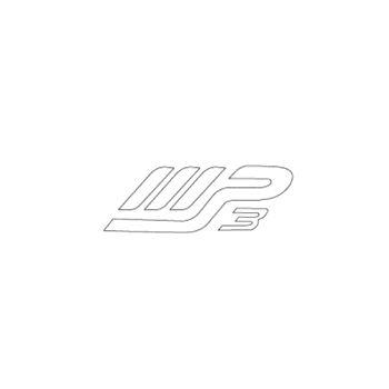Piaggio Scooter mp3 logo Decal