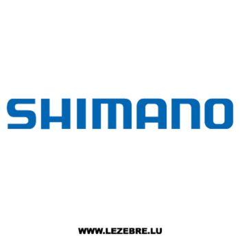 Shimano Decal