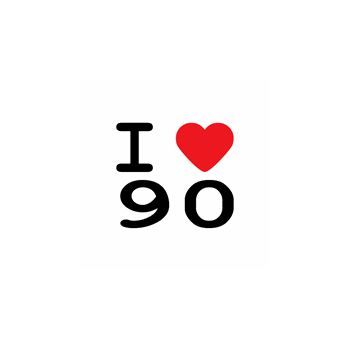 T-Shirt I love 90