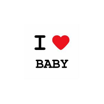T-Shirt I love Baby