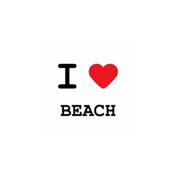 T-Shirt I love beach