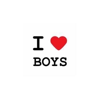 T-Shirt I love boy