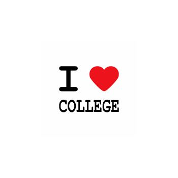 T-Shirt I love college