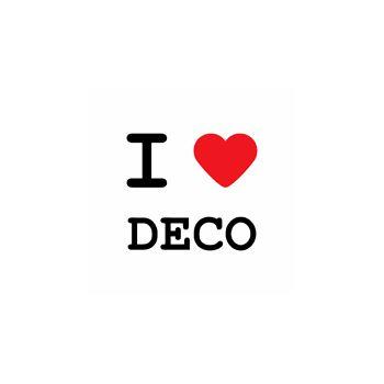 T-Shirt I love deco