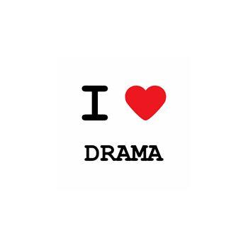 T-Shirt I love drama