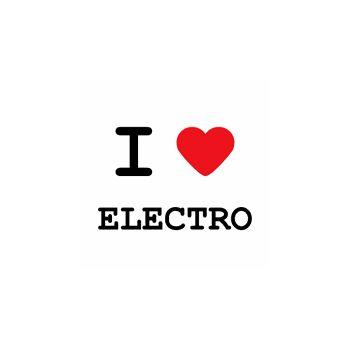 T-Shirt I love electro