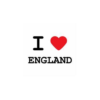 T-Shirt I love england