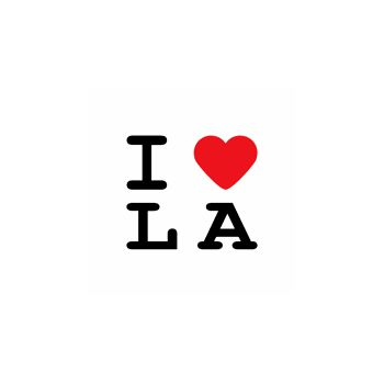 T-Shirt I LOVE LA