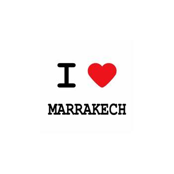 T-Shirt I love marrakech