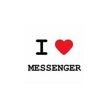 T-Shirt I love messenger