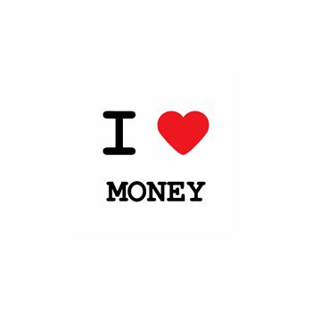 T-Shirt I love money