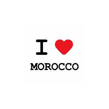 T-Shirt I love Morocco