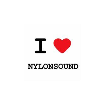 T-Shirt I love nylon sound