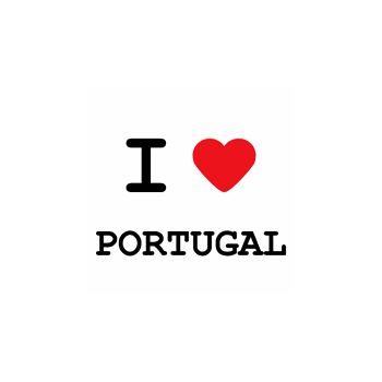 T-Shirt I love Portugal