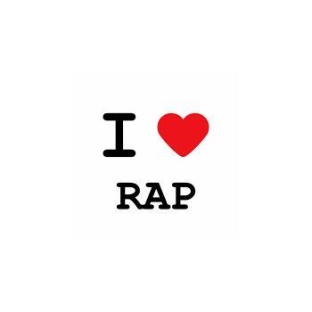 T-Shirt I love RAP