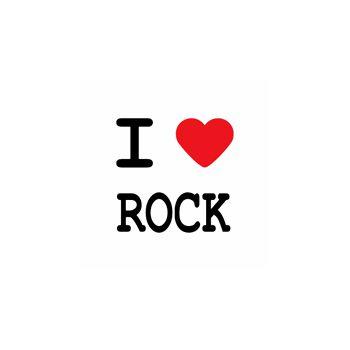 T-Shirt I love rock