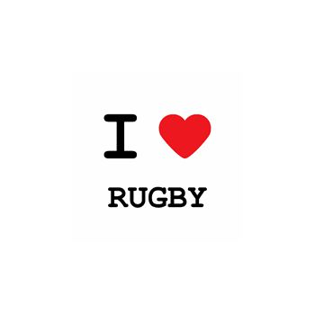 T-Shirt I love rugby