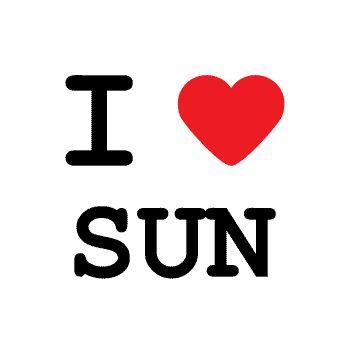 T-Shirt I love sun