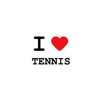 T-Shirt I love tennis