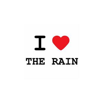 T-Shirt I love the rain