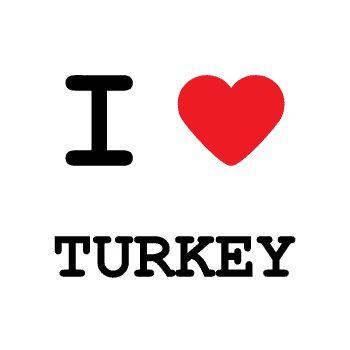T-Shirt I love Turkey