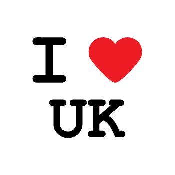 T-Shirt I love uk