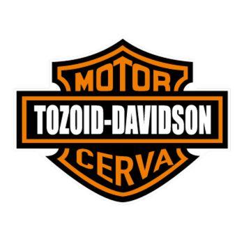 Harley Davidson Tozoid Cerva Decal