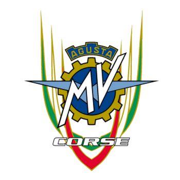 MV Agusta Corse logo Decal
