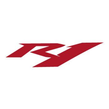 Sticker Yamaha R1 logo