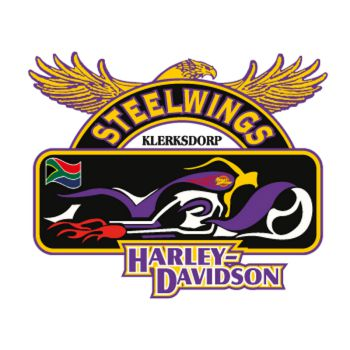 Harley Davidson Steelwings Decal