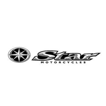 Star motorcycle logo Decal