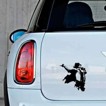 The King of the pop Mini Decal