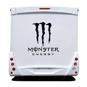Monster Energy Camping Car Decal
