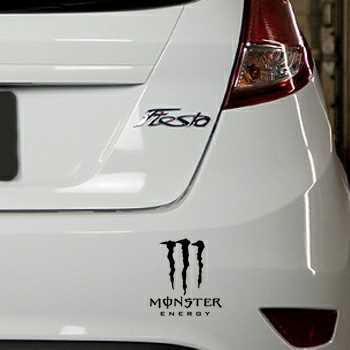 Sticker Ford Fiesta Monster Energy