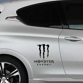 Monster Energy Peugeot Decal