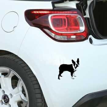 Sticker Citroen DS3 Boston Terrier
