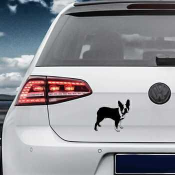 Boston Terrier Volkswagen MK Golf Decal