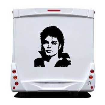 Michael Jackson Camping Car Decal
