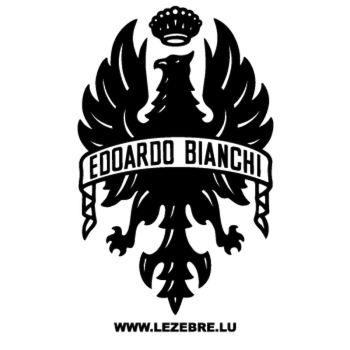 Sticker Bianchi Edoardo Logo