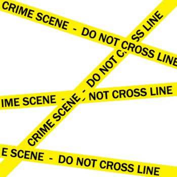 Tee shirt Crime Scene - Do Not Cross Line