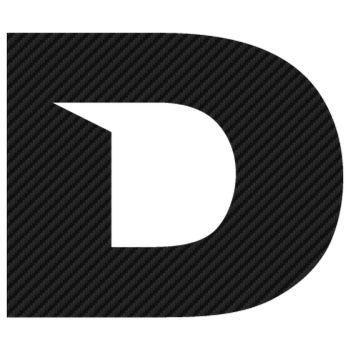 Sticker Carbone Derbi Logo 2