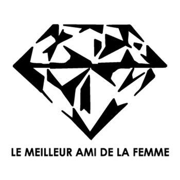Tee shirt Diamant - Le meilleur Ami De La Femme