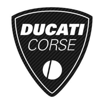 Sticker Carbone Ducati Corse