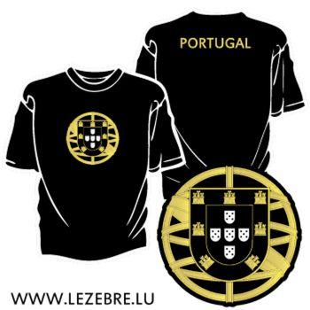 Tee shirt Escudo Portugais 2